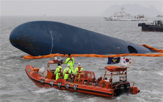 Korean Ferry Disaster April 2014