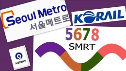 Logo of companies that operate Seoul's subway