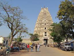 The Virupaksha Temple in Hampi is an important setting in my Novella 'City of Victory'