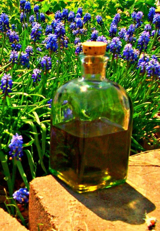 Finished infused oil