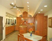 The same custom made cabinets