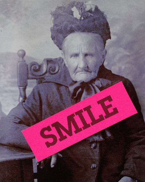 Always remember: A smile is your best asset to staying young!
