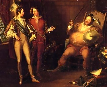 Polar opposites in their upbringing, Falstaff is the only one who can keep Hal honest throughout the story