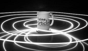 Ezine wallpaper mug image is inspiring for writers.