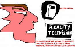 What television stations are doing to some of us with so-called 'reality'.