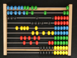 The abacus, also called a counting frame!!!