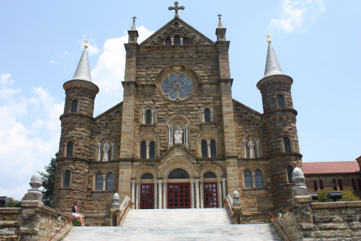 St. Meinrad Archabbey in Spencer County, Indiana.
