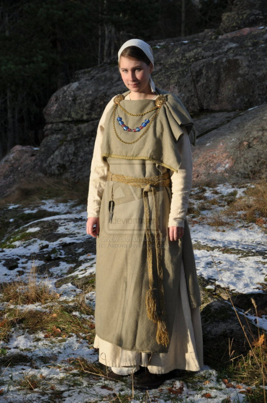Viking age merchant's wife