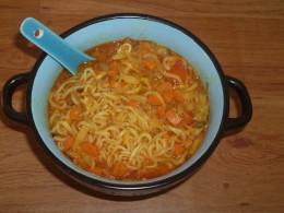 Vegetable Soupy Maggi Noodles