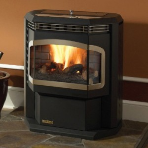 You can see how these pellet stoves vent through the wall, not a fireplace.  If you're considering a free-standing stove, keep in mind where you'll need to run your pipe.