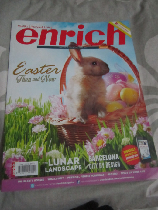 Easter issue of Enrich Magazine