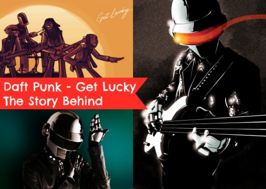 The Exclusive Fan Depiction of the Daft Punk Get Lucky Official Video