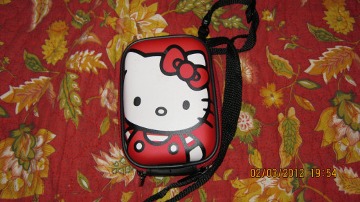 Hello Kitty Digital Camera Case