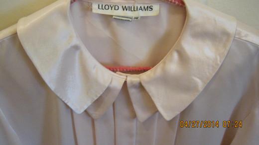 Vintage Pink Lloyd Williams Blouse