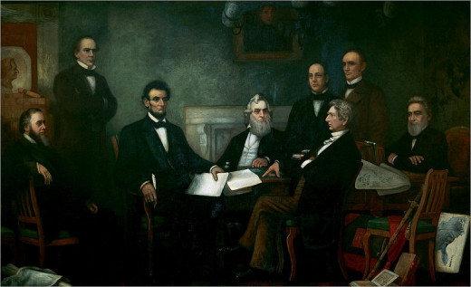 President Lincoln appointed his top rivals at the 1860 Republican Convention, and even Democrats, to his Cabinet as a way to control the numerous factions that opposed his policies