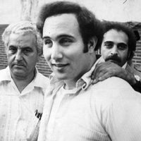 "Yonkers, New York, resident David Berkowitz, also known as ""Son of Sam"" or the .44 caliber killer, was convicted of six killings over a period of time beginning in 1976. He told police he was commanded to kill by his neighbor's possessed dog."