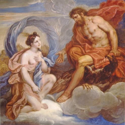 Zeus Commanding Iris