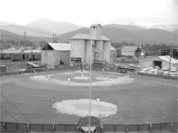 Baseball Field in Libby near vermiculite loading