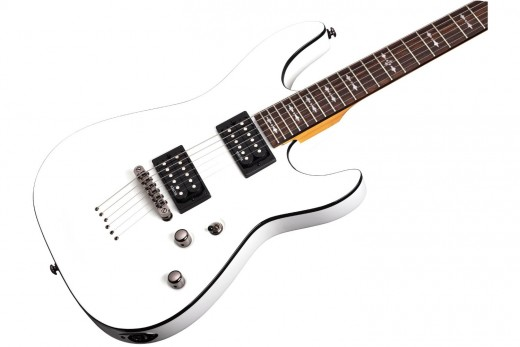 Schecter Omen 6 in Vintage White Finish