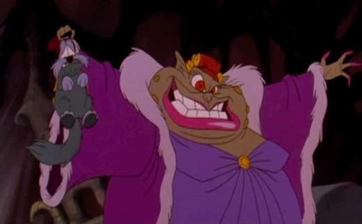 "Gnorga, the ""queen of mean"""