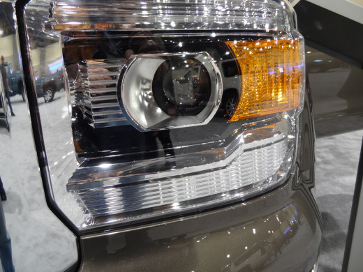 Pickup truck LED Headlight.