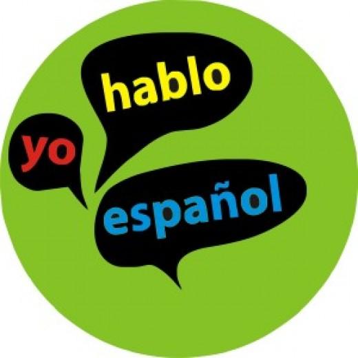 """Says, """" I speak Spanish"""""""