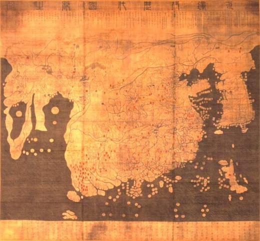 Kangnido map (1402)