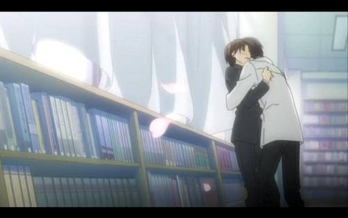 This anime has plenty of fluffy, happy moments, sure to attract any fan of boy's love anime.