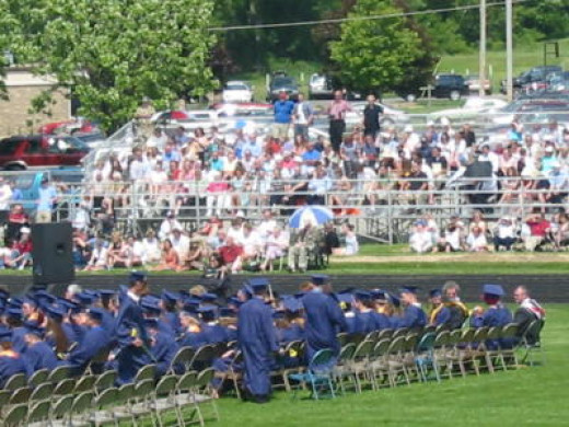 Photo is my own, taken at our son's High School graduation