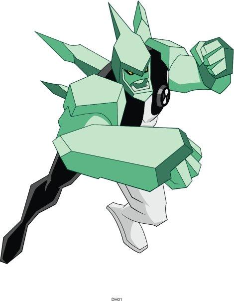 Diamondhead alien in Ben10