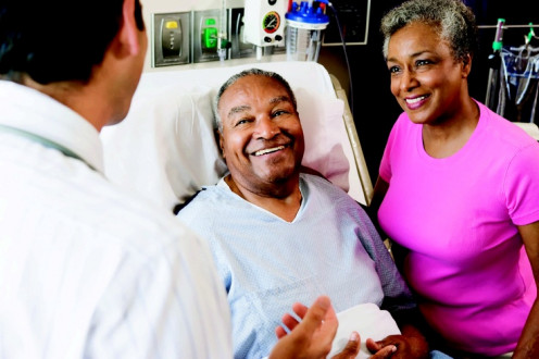 Medicare hospital beneficiaries requiring post-acute care.