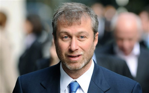 Russian oligarch and owner of Chelsea FC Roman Obramovich