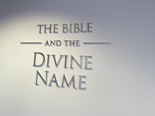 "Make sure you stop in to take the tour, ""The Bible and the Divine Name."" This powerful tour reveals Biblical events from the time of Adam and Eve, down to our day. It is free of charge, go to jw.org for additional information."