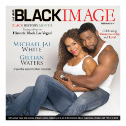 Michael Jai White and Gillian Iliana Waters, now this is a couple that should be talked about in Hollywood