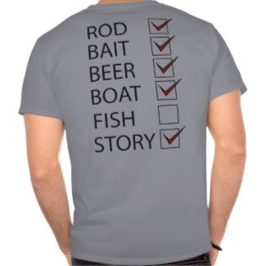A Funny Fishing T-Shirt
