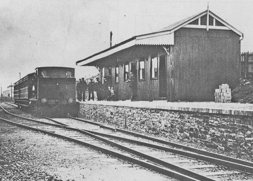 One of William Shelford's projects, the Bury Port & Gwendraeth Valley Railway (BP&GVR)