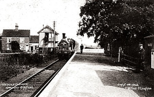 Theddlethorpe Station on the Louth & East Coast Railway (L&ECR), another of Shelford's commissions