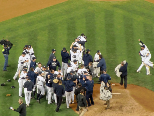 The Yankees Celebrate 2009 World Series