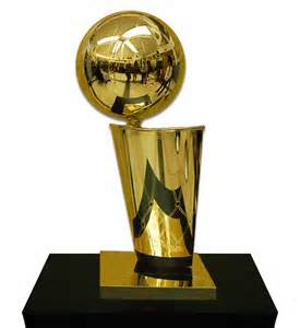 Larry O'Brien Championship Trophy.  Jordan helped the Bulls win 6 of these.