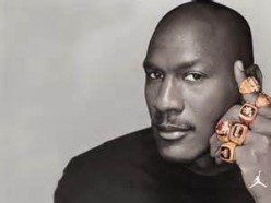 It's hard enough getting one ring.  Michael won 6.  He enjoyed beating and keeping his friends from winning titles.  He often reminds Charles Barkley and Patrick Ewing of that fact.