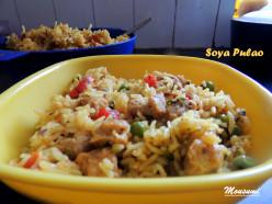 Soya Pulao Recipe