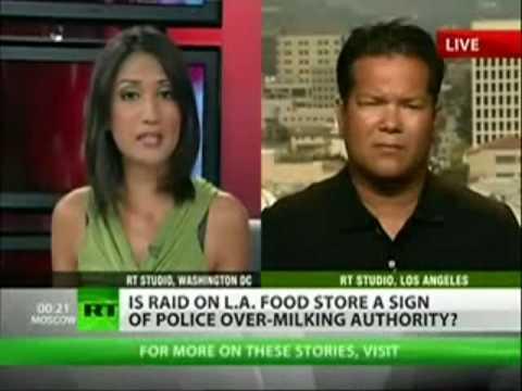 US Government Raids Small Farmers, Health Stores, Organic Markets