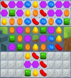 Candy Crush Level 29 - Regular Matches Do No Good