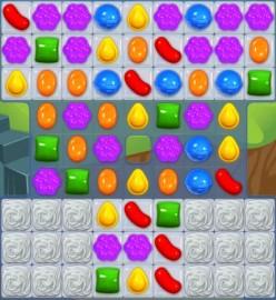 Candy Crush Level 29 - Regular Matches Do No Good
