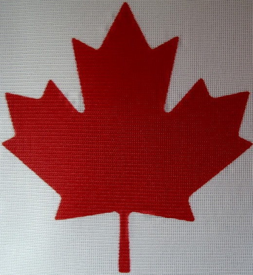 A Canadian Maple Leaf