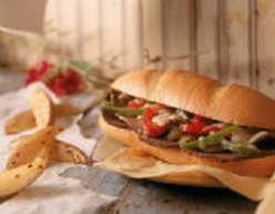 Slow Cooker Beef Philly Cheesesteak Sandwiches