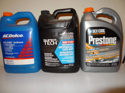 Standard and Extended Life Antifreeze