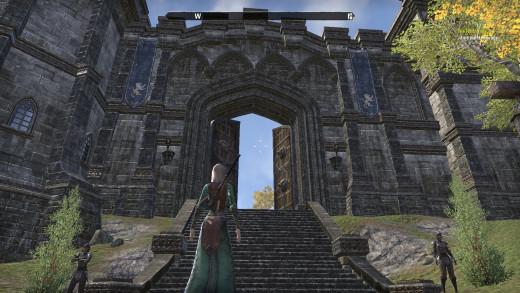 Entrance to Daggerfall