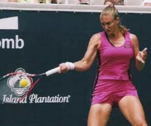 Steffi Graf has won a gold medal and she was the number one female tennis player in the world for 337 weeks which is a tennis record.