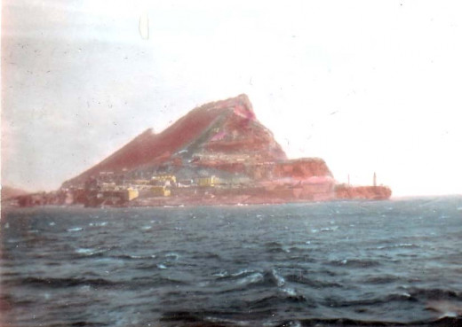 Gibraltar (for real this time): my father's photo